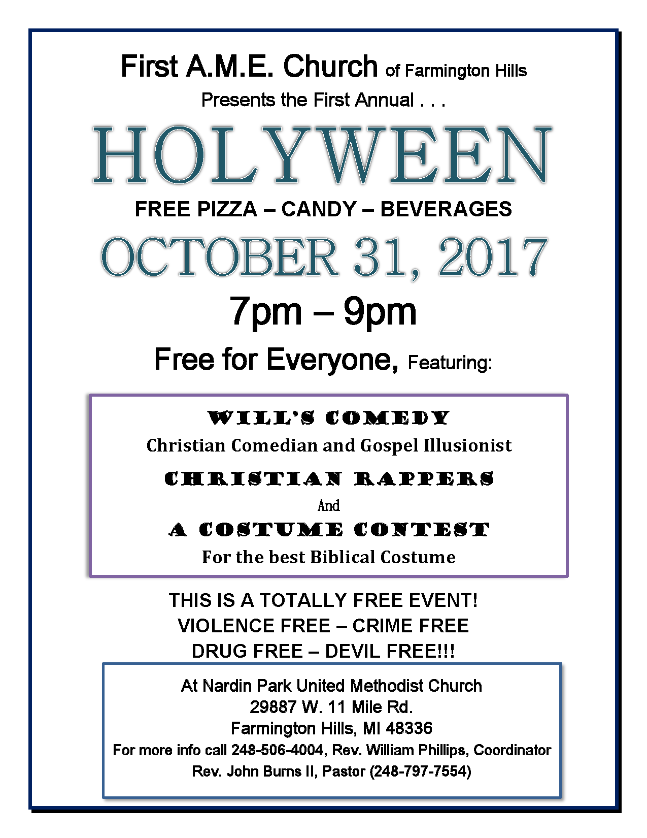 HOLYWEEN 2017 FULL PAGE